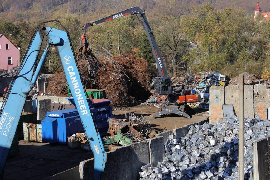 zpracování kovového odpadu Cannoneer group s.r.o.